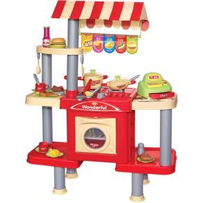Kit loja de conveniências com 81 peças