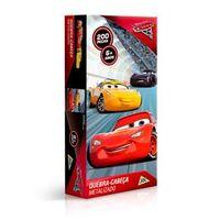 Quebra Cabeça Metalizado Carros 200 Peças - Toyster