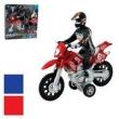 Moto Fricção com Boneco Som e Luz 830095 - Issam