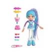 Boneca Betty Spaghetty Neve Azul com Ski Rosa - Candide