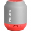 Caixa Multimídia 2W Bluetooth Cinza e Vermelha BT50GX - 78 Philips