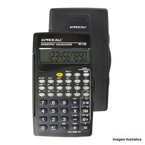 Calculadora Científica 10 Dígitos 56 Funções Preta SC128 - Procalc