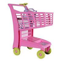 Carrinho Infantil para Supermercado Rosa 871 - Magic Toys