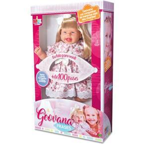 Geovana Frases 47cm Milk