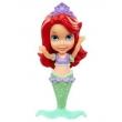 Princesas Disney - Mini Boneca Ariel com Cauda