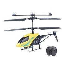 Helicóptero de brinquedo dupla hélice com luzes LED e controle remoto
