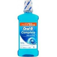 Antisséptico Bucal Oral - B Bucal Complete Menta Leve 500Ml Pague 300Ml