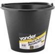 Balde plástico reforçado para concreto 12 litros - Vonder