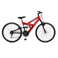 Bicicleta 21 Marchas Aro 26 Kanguru Style 21 M. Vermelha - Master Bike - 2659050