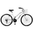 Bicicleta 26 Ipanema Plus 21 Marchas Com Cesta - Master Bike - Branco branco