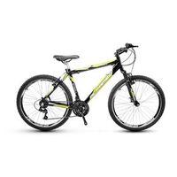 Bicicleta Alfameq Stroll Aro 26 Vbrake 21 Marchas - Preta Com Verde