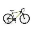 Bicicleta Alfameq Stroll Aro 26 Vbrake 21 Marchas - Preta Com Verde - Quadro 17