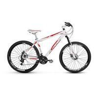 Bicicleta Alfameq Stroll Aro 29 Freio À Disco 21 Marchas - Branca Com Vermelho - Quadro 19