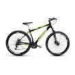 Bicicleta Alfameq Stroll Aro 29 Freio À Disco 21 Marchas - Preta Com Verde - Quadro 19