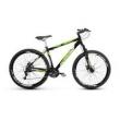 Bicicleta Alfameq Stroll Aro 29 Freio À Disco 27 Marchas - Preta Com Verde - Quadro 17