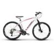 Bicicleta Alfameq Zahav Aro 29 Freio a Disco 21 Marchas Quadro 17 - Branco com Vermelho