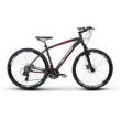 Bicicleta Alfameq Zahav Aro 29 Freio a Disco 24 Marchas Quadro 17 - Preto / Vermelho