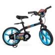 Bicicleta Aro 14 Bandeirante Liga da Justiça - Preta