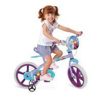 Bicicleta Aro 14 Frozen Disney 2584 Bandeirantes