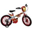 Bicicleta Aro 16 Bandeirante Vingadores Homem de Ferro - Prata / Vermelha