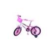 Bicicleta Aro 16 F. Milla Pink / Branco C / Ac Rosa Dalannio Bike