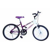 Bicicleta Aro 20 F. Milla Violeta C / Branco Dalannio Bike