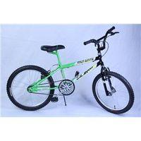 Bicicleta Aro 20 M. Mutante Verde C / Preto Dalannio Bike