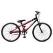 Bicicleta Aro 24 Ciclone Vermelho Com Preto Masculina Sem Marchas - Master Bike