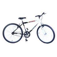 Bicicleta Aro 24 M. Stroll Preto C / Branco Dalannio Bike
