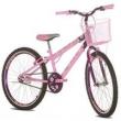 Bicicleta Aro 24 Sport Bike Flowers Rosa