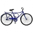 Bicicleta Aro 26 Contrapedal Super Barra - Master Bike - Azul