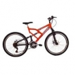 Bicicleta aro 26 Dupla Suspensão Status Full ( Freio a disco )