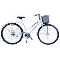 Bicicleta Aro 26 Feminina Freio no Pé CP Malaga Branca branco