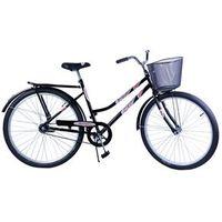Bicicleta Aro 26 Feminina Freio no Pé CP Malaga Preta preto