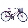 Bicicleta Aro 26 Feminina Freio no Pé CP Malaga Violeta roxo