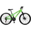 Bicicleta Aro 26 Free Rider 21M Freio Á Disco - Master Bike - Verde verde