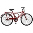 Bicicleta Aro 26 Freio Manual Super Barra - Master Bike - Vermelho vermelho