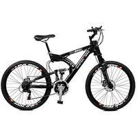 Bicicleta Aro 26 Gw 21 Marchas Freio Á Disco 2623040 - Master Bike - Preto preto