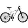 Bicicleta Aro 26 Suspensão Full Baixa A - 36 Totem - Master Bike - Branco branco