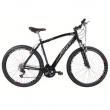Bicicleta Aro 29 Track e Bikes Black 29 P com Suspensão Dianteira, Freio V - Brake e 21 Marchas