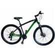 Bicicleta Canadian Curvo 24 Marchas Câmbios Shimano - Quadro 18 verde