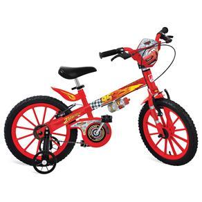 Bicicleta Cars Disney Bandeirante Aro 16 Vermelho