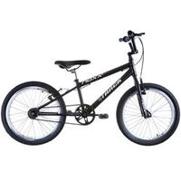 Bicicleta Cross Aro 20 Noxx BMX Quadro Rebaixado Preto Track Bikes
