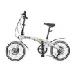 Bicicleta Dobrável Pliage Branca