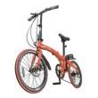 Bicicleta Dobrável Pliage Vermelha Two Dogs