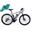 Bicicleta Elétrica Aro 29 AL. BAT. de LITIO Tec - Ultra. branco
