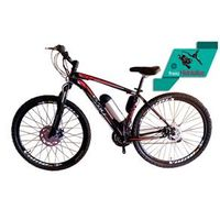 Bicicleta Elétrica Aro 29 AL. BAT. de LITIO Tec - Ultra. preto