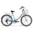 Bicicleta Feminina Gts Retrô Aro 26 Câmbio Shimano 7 Marchas Freio V - Brake Ks Retrô azul claro
