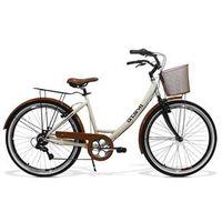 Bicicleta Feminina Gts Retrô Aro 26 Câmbio Shimano 7 Marchas Freio V - Brake Ks Retrô bege médio