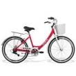 Bicicleta Feminina Gts Retrô Aro 26 Câmbio Shimano 7 Marchas Freio V - Brake Ks Retrô rosa